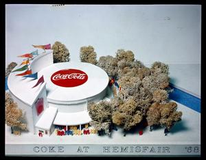 Primary view of object titled 'Coke at HemisFair '68'.