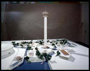 Primary view of object titled 'Hemisfair Model'.