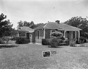 Primary view of object titled '[Sands House, (Northeast oblique)]'.