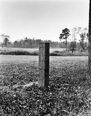 Primary view of object titled '[International Boundary Marker, (Southwest oblique)]'.
