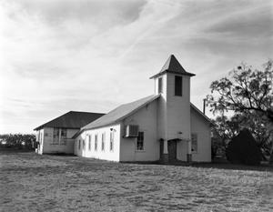 Primary view of object titled '[Doole Baptist Church, (West)]'.