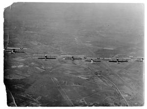 Primary view of object titled 'Biplanes in Flight Near Dallas, Texas'.