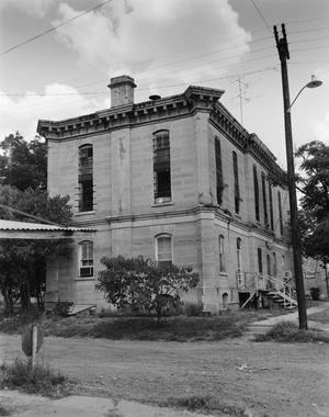Primary view of object titled '[Red River County Jail]'.