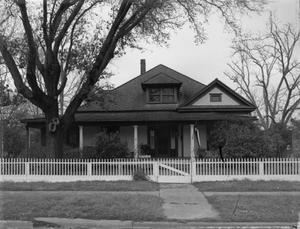 Primary view of object titled '[Gerald-Partlow House, (South facade)]'.