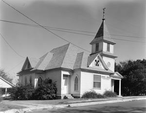 Primary view of object titled '[Prince Memorial Church, (Southwest oblique)]'.