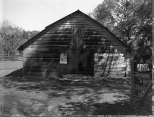Primary view of object titled '[Palmer Barn, (West facade)]'.