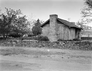 Primary view of object titled '[W. H. Ledbetter House, (Northeast oblique)]'.