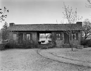 Primary view of object titled '[W. H. Ledbetter House, (West elevation)]'.