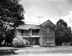 Primary view of object titled '[Coley-Wright Rooming House, (North facade)]'.