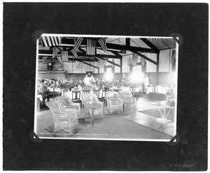 Primary view of object titled '[Love Field Officers Club Interior]'.