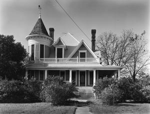 Primary view of object titled '[J.D. Baker Residence, (East elevation)]'.