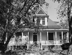 Primary view of object titled '[Lowe-Wright House, (South elevation)]'.