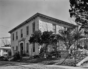 Primary view of object titled '[Carrington-Covert House, (Southwest oblique)]'.