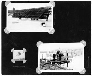 Primary view of object titled '[Album Page with Three Photographs]'.