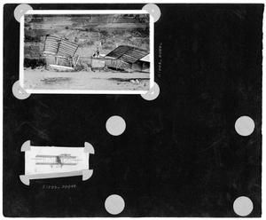 Primary view of object titled '[Album Page with Two Photographs]'.