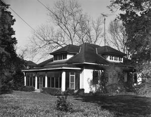 Primary view of object titled '[Ray Partlow House, (Southeast oblique)]'.