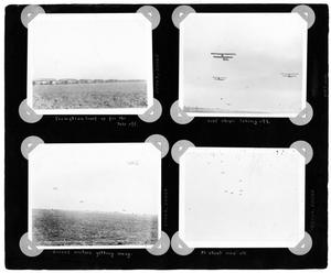 Primary view of object titled '[Album Page with Four Photographs]'.