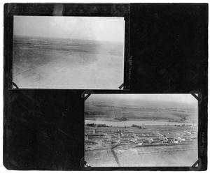 "[Aerial View of Road Near Love Field : General View of ""Flyin' Frolic""]"