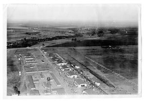 Primary view of object titled '[Aerial View of Love Field Airport]'.