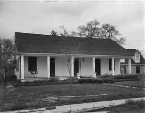 Primary view of object titled '[Abbott-Parker House, (East facade)]'.