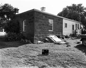 Primary view of object titled '[Moody House, (Southwest oblique)]'.