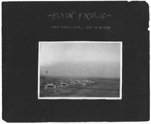 "Primary view of object titled '[Love Field: Aerial View During ""Flyin' Frolic""]'."
