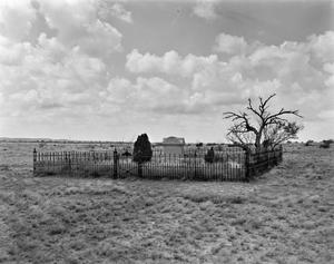 Primary view of object titled '[Lee Ranch House, (Cemetery)]'.