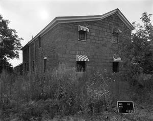 Primary view of object titled '[Schussler House, (West oblique)]'.