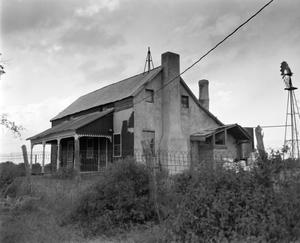 Primary view of object titled '[Herman Schuessler House, (Northwest)]'.