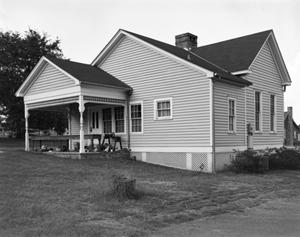 Primary view of object titled '[First Methodist Parsonage]'.