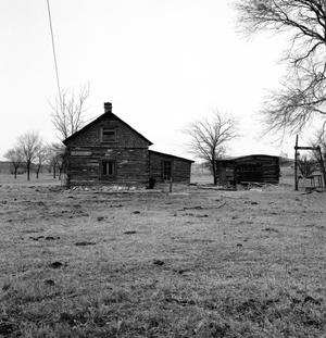 Primary view of object titled '[T-Anchor Ranch House Headquarters (1877)]'.