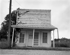 Primary view of object titled '[Commercial Structure, (West)]'.