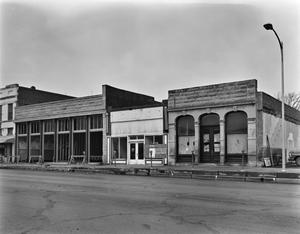 Primary view of object titled '[San Angelo National Bank, Johnson-Taylor, Schwartz and Raas Building, (Southeast elevation of Schwartz and Raas)]'.