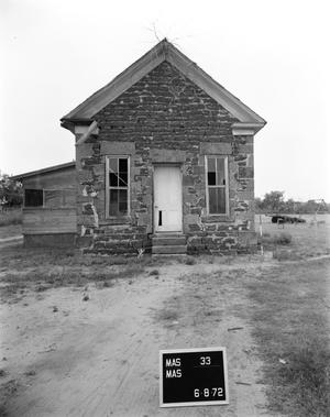 Primary view of object titled '[Officer's House, (North elevation)]'.