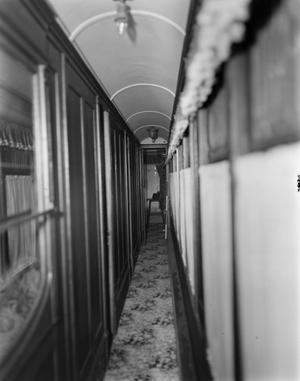 "Primary view of object titled '[""The Atalanta,"" Jay Gould Railroad Car]'."