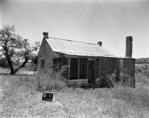 Primary view of object titled '[Carlos Thomas House, (Northeast oblique)]'.