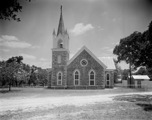 Primary view of object titled '[Bethel Methodist Church, (Northwest elevation)]'.