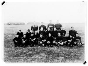 Primary view of object titled '[1918 Love Field Football Squad]'.