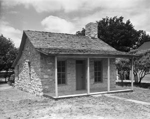 Primary view of object titled '[Jacob House, (Southeast oblique)]'.