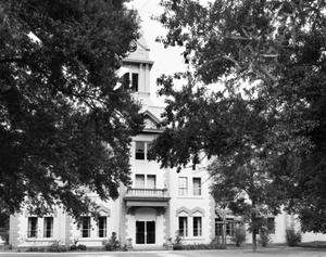 Primary view of object titled '[Newton County Courthouse, (North elevation)]'.