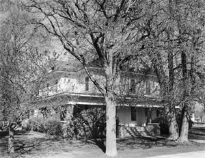 Primary view of object titled '[W.B. Mitchell Residence]'.