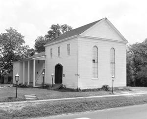 Primary view of object titled '[Jefferson Playhouse, (Old Synagogue)]'.
