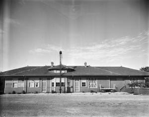 Primary view of object titled '[Texas Central (Missouri-Kansas-Texas) Railway Depot]'.
