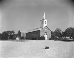 Primary view of object titled '[Church]'.