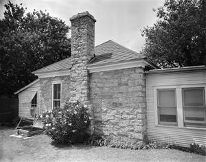 Primary view of object titled '[Webb-Shelton House, (Southeast oblique)]'.
