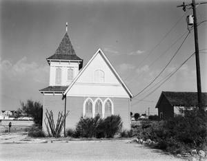 Primary view of object titled '[Saint Stephen's Episcopal Church, (East elevation)]'.