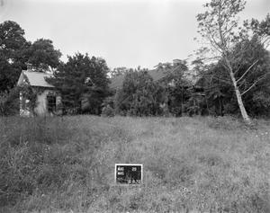 Primary view of object titled '[John Gamel House, (Northeast oblique)]'.
