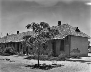 Primary view of object titled '[Railroad Worker Hotel]'.