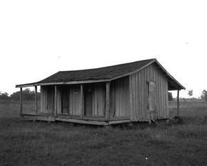 Primary view of object titled '[Old Jake's Cabin, (Southwest oblique)]'.