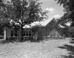 Primary view of object titled '[Bethel Methodist Church Parsonage, (Southwest oblique)]'.